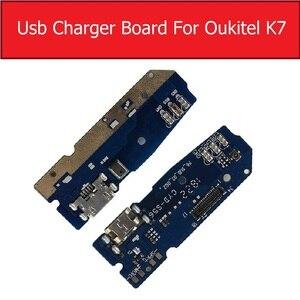 Image 2 - Usb充電 & マイクジャックポートボードoukitelためK7 K10 usb充電器コネクタモジュールusb充電器ボードの交換修理