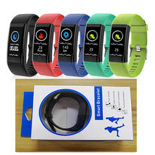 ID115Plus Smart Armband Fitness Tracker Stappenteller Activiteit Monitor Hartslag Bluetooth Polsband Voor IOS Android Telefoon(China)