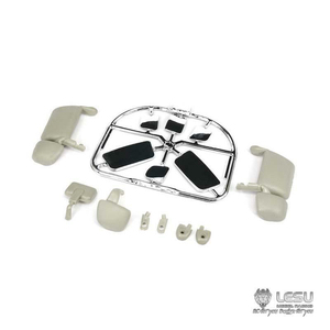 LESU Rearview Mirror Mount for 1/14 RC TAMIYA Scania R620 470 Tractor Truck Model