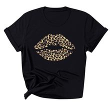 Make Up Aesthetics T shirt women Sexy Lips Gold Glitter Print tshirt Pride Lgbt female t-shirt Gay Love Lesbian sexy lips tops(China)