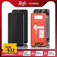 Écran LCD Pour Huawei Honor 10 Ecran Complet Vitre Tactile + Frame Châssis Original 5.8 inch Noir Kit Outils On Col-L29