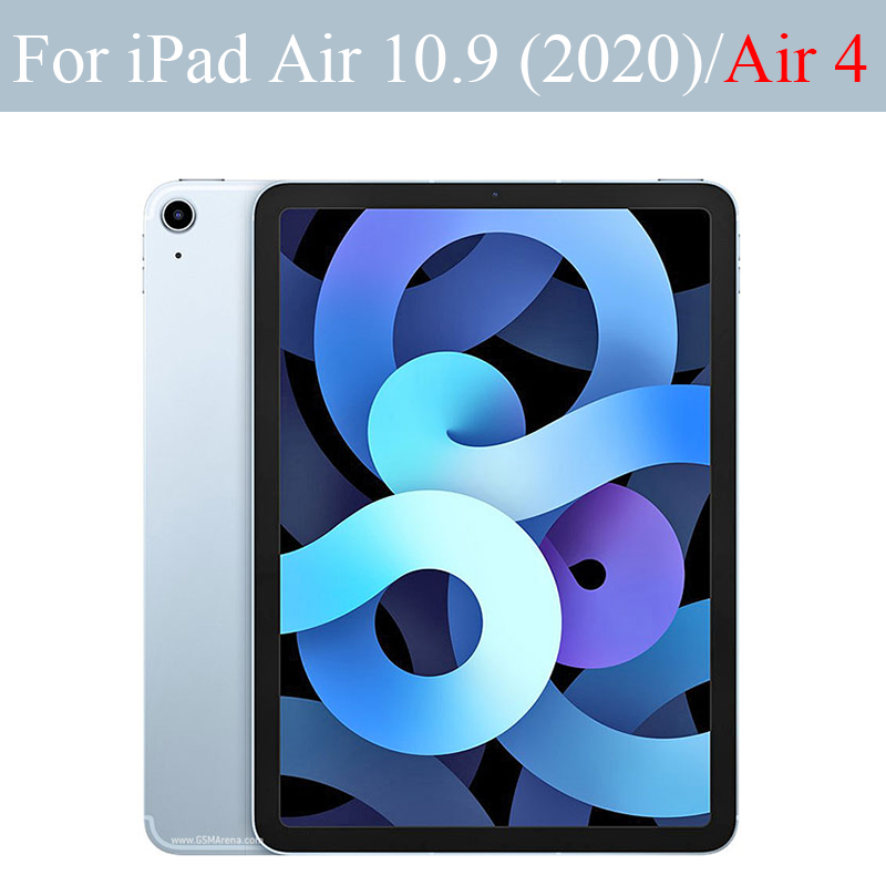 Tablet case for Apple ipad Air 10 9 2020 Silicone soft shell TPU Airbag cover Transparent