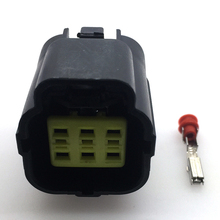 2 sets 6 pins tyco 1.8 mm series electronic accelerator pedal plug air conditioning pressure switch connector