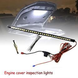 Kit de LED blanc sous capot LightT 10 LED avec interrupteur automatique universel convient à tous les feux de voiture de véhicule cravates ampoules LED Festoon W5W