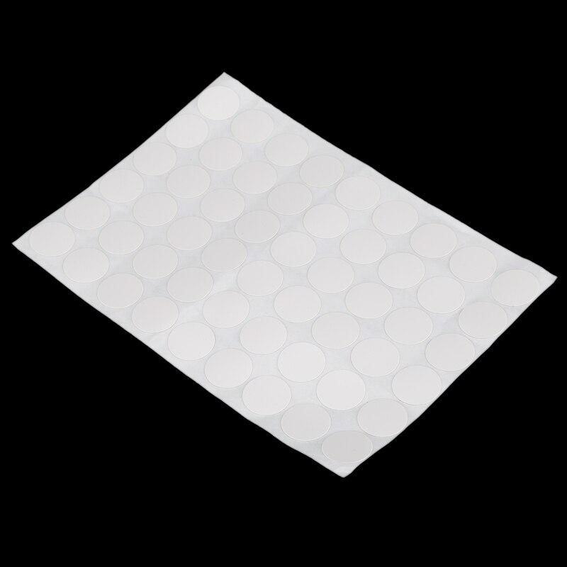 Шкаф для шкафа самоклеющиеся винтовые крышки наклейки 54 в 1 белый
