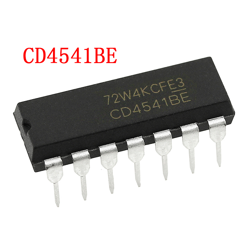10pcs/lot <font><b>CD4541BE</b></font> DIP-14 CD4541 Programmable timer IC image