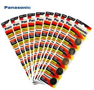 50PCS Original Panasonic Top Quality Lithium Battery 3V cr2016 Button Battery Watch Coin Batteries cr 2016 DL2016 ECR2016(China)