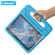 For Lenovo Tab E10 cover 10.1 inch non toxic EVA materials tablet cover hand held Shock Proof kids case for lenovo tab e10 case