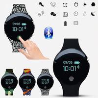H8 inteligentny zegarek kobiety mężczyźni Smartwatch mężczyzna wodoodporny Bluetooth inteligentny zegar bransoletka fitness Top marka luksusowe Relogio Inteligente