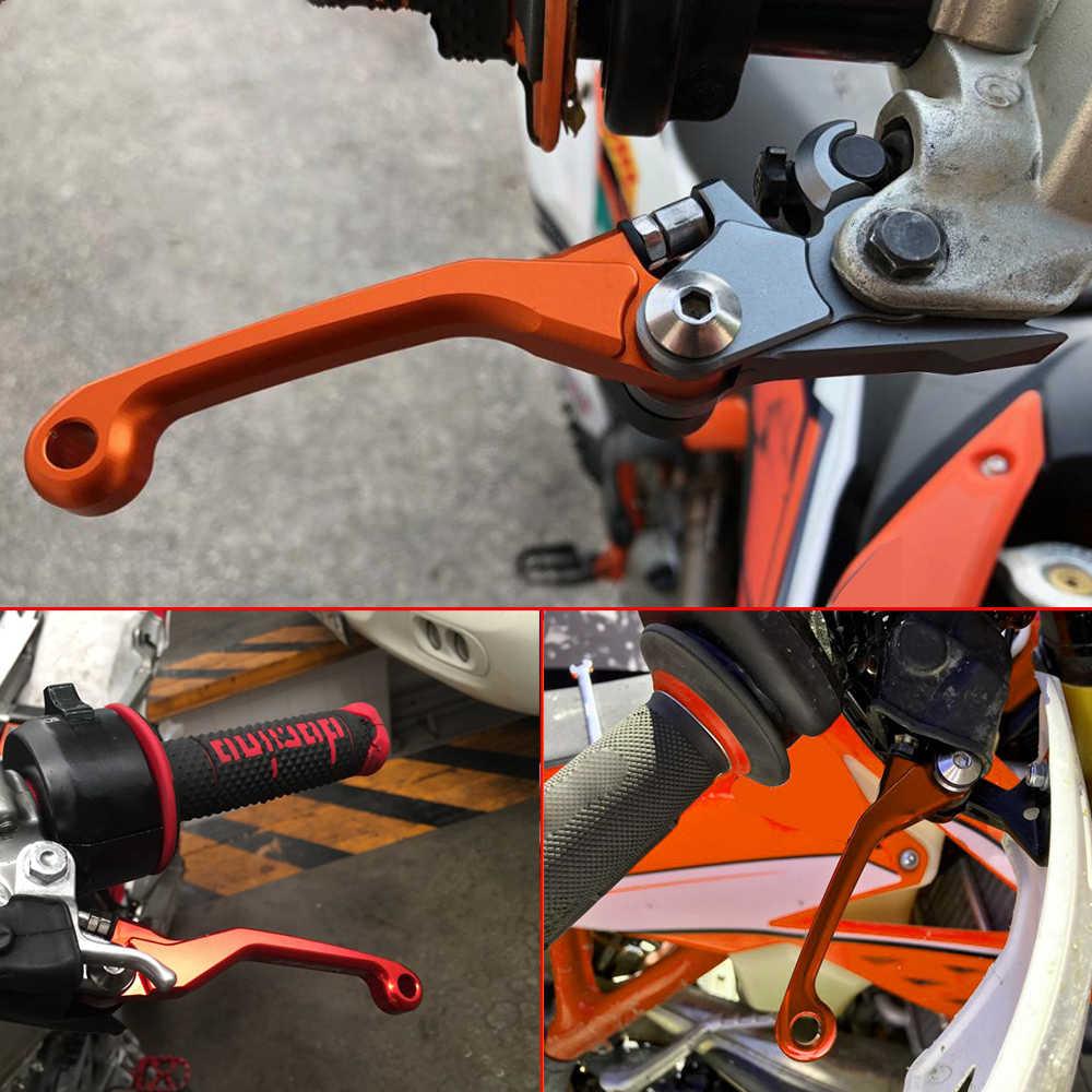 Алюминиевый Мотоцикл Dirt Pit Bike для KTM 250 350 500 EXC-F ECX F 250EXC-F 250ECX-F2014-2018 мотоциклетные поворотные тормозные рычаги сцепления