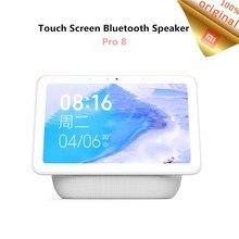 Original Xiaomi AI Touch Screen Bluetooth 5.0 Speaker Pro 8 inch Digital Display Alarm Clock WiFi Smart Connection Mi Speaker