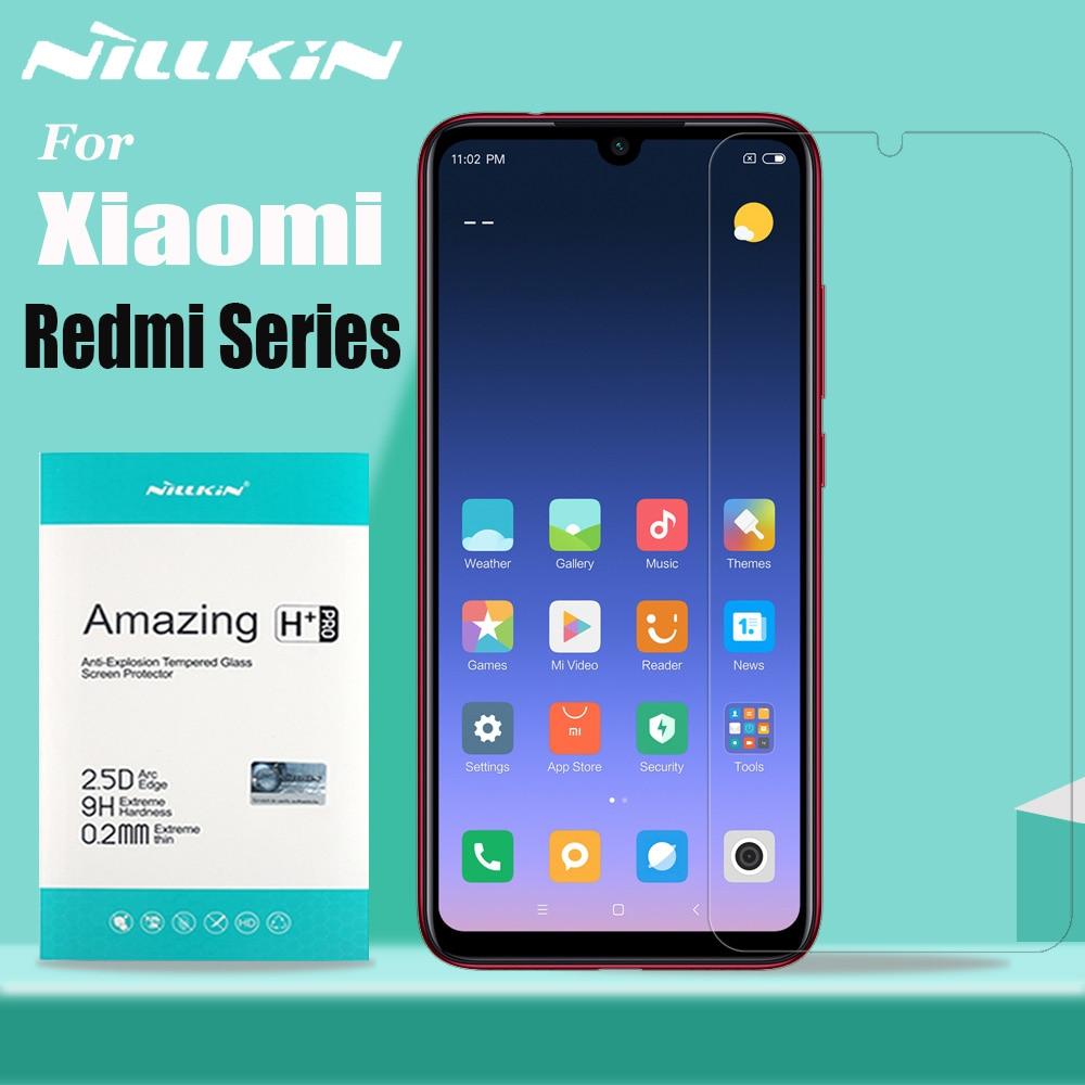 Nillkin for XiaoMi Redmi Note 8 7 6 5 Pro Tempered Glass Screen Protector 9H Hard