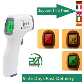 Подсветка Body Baby bezdotykowy termometr laserowy podczerwień medyczne ucho dorosły 3 kolor cyfrowy gorączka wysoka precyzja FDA RoHS tanie i dobre opinie U-Kiss Z Chin Kontynentalnych Ear Thermometer TERMOMETRY