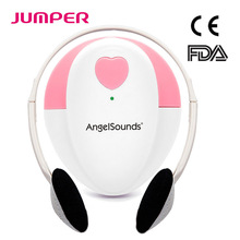 JUMPER Angelsounds Fetal Doppler Baby Sound Portable Fetal Heart Detector Monitor Household Health CE FDA Approved