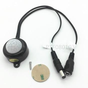 цена на DC 5-24V/5A With Plug For LED Strip Human Body Infrared PIR Motion Sensor Switch Energy-Saving TDL-2025-B Plastic