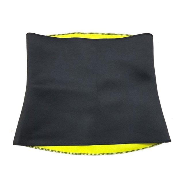 Men Women Slim Burn Fat Sweat Weight Loss Body Shaper Waist Trimmer Exercise Wrap Belt S-XXXL 2