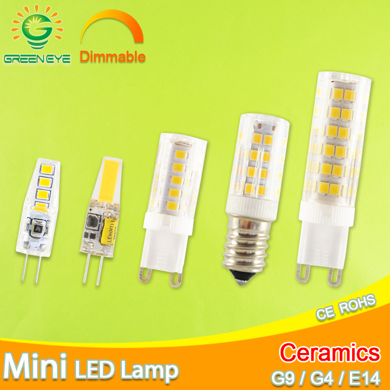 l/'éclairage 6w-9w 360 degrés lustre g4 et g9 led une ampoule lampe halogène
