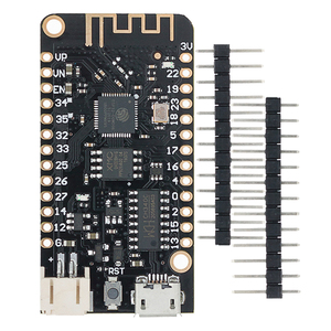 Image 1 - 10 PCS LOLIN32 Wifi Bluetooth פיתוח לוח אנטנה ESP32 ESP 32 REV1 CH340 CH340G MicroPython מיקרו USB ליתיום סוללה Int