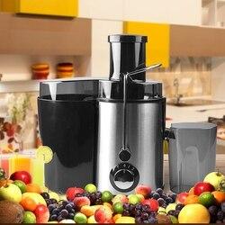 Duże sokowirówki elektryczne ze stali nierdzewnej wielofunkcyjny sokowirówka owoce i warzywa sok owocowy maszyna do napojów Home Commercial E w Sokowniki od AGD na