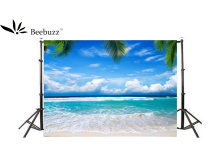 Beebuzz photo backdrop summer beach holiday background