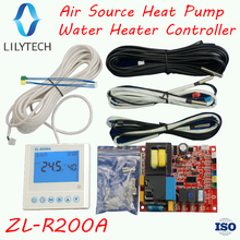 ZL-R200A, Universal, Air source heat pump water heater controller, Heat pump air to hot water heating controller, Lilytech