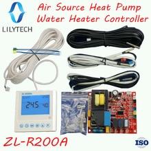 ZL-R200A, Universal, Air source heat pump water heater controller, Heat pump air to hot water heating controller, Lilytech