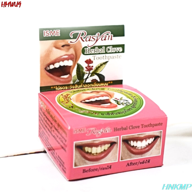 1pc 25g Herb Mint Tooth Whitening Toothpaste Natural Herbal Clove Tooth paste Whitener Toothbrush Cleaning