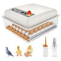 SEAAN Eggs BIncubator 36 Eggs Digita Mini Automatie Incubatores Incubators for Hatching Eggs with Automatic Turner