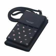 Litthing Flower Print Women Handbags Korean Mini Bag Cell Phone Bags Simple Small Crossbody Casual Ladies Flap Shoulder