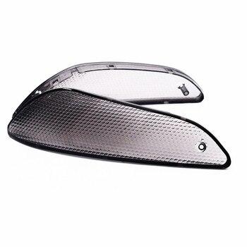 Lente de luz intermitente delantera de motocicleta para BMW K1200LT 1999-2007, accesorios de cubierta intermitente de humo