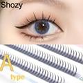 Shozy A/я Форма профессиональный макияж индивидуальное наращивание ресниц натуральный пушистые накладные ресницы 3D кластера ресницы