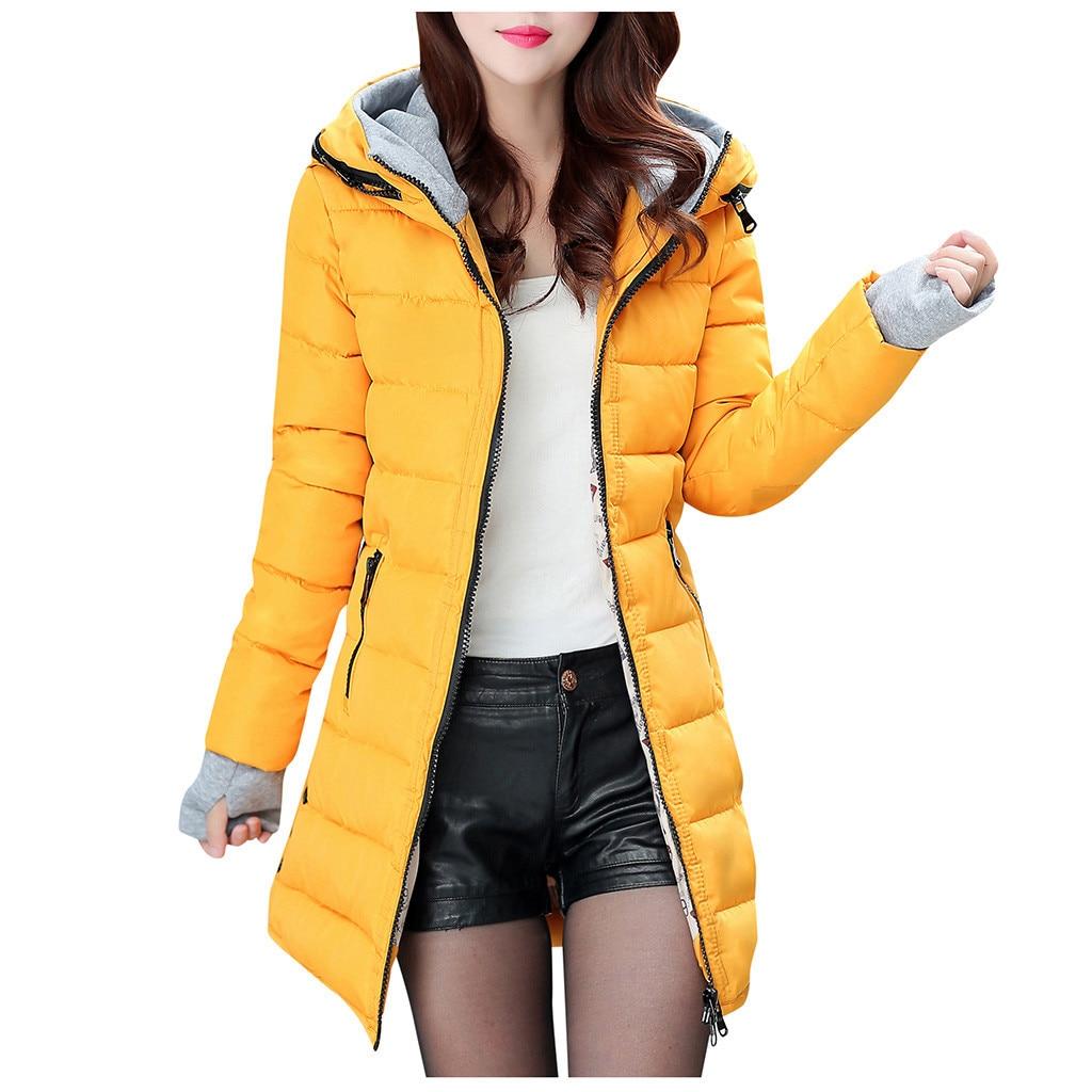 2019 Parkas Women Down Jacket Plus Size 4XL Womens Parkas Thicken Outerwear hooded Winter Coat Female Jacket Cotton padded FC