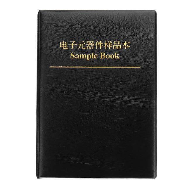 Kit surtido de resistencias de Chip SMD 8500, 170 Uds., 0603 valores, 1%, 0 10M, Kit de Muestra de resistencias de libros