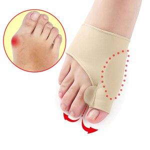 Image 1 - Protecteur dunion des pieds, soins, outil de pédicure, Hallux Valgus, correcteur orthopédique, masseur de pieds, 1 paire = 2 pièces