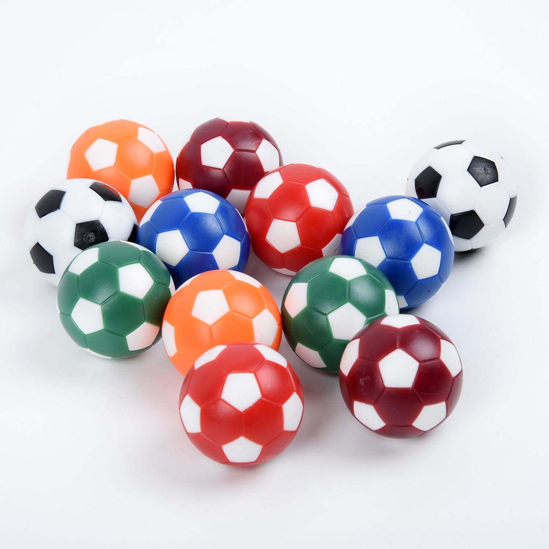 12Pcs Table Foosball Soccer Football Balls Miniature Table Ball Many Color