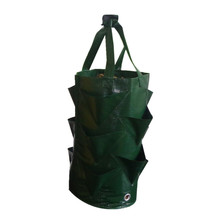 Садовая сумка для выращивания клубники вертикальный цветочный травяной мешочек дышащая круглая многоразовая сумка для растений
