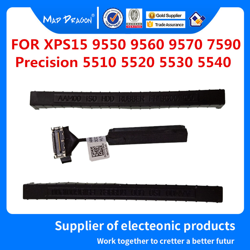 SATA Disco Rígido HDD Conector Do Cabo Flex Para Dell XPS15 9550 9560 9570 7590 de Precisão de 5510 5520 5530 5540 0XDYGX XDYGX 0 K0K71