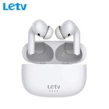 Letv orelhas pro tws fone de ouvido bluetooth 5.0 anc ativo redução ruído fones de carregamento rápido sem fio alta qualidade baixo com microfone