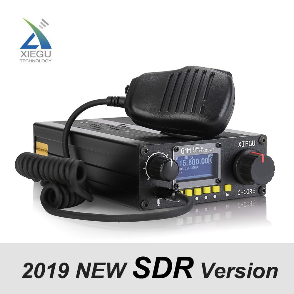 SDR Transceiver SSB Mobile-Radio QRP Amateur XIEGU G1M Short-Wave HF Quad-Band Portable