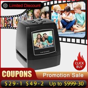 Scanner Converter Image-Viewer Negative-Film 135mm-Slide-Film Photo Digital Protable
