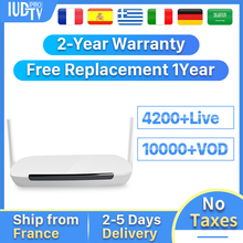 IPTV UK Box Leadcool Q9 IUDTV Spain Sweden IP TV Box Android 8.1 RK3229 1+8G Italy Nordic Germany Turkey IPTV 1 Year TV Receiver sweden iptv box tx9 pro s912 android 7 1 3gb 32g android tv box nordic israel nertherland world ip tv 5000 channels smart tv box