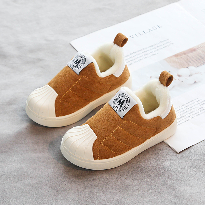 Anti-Collision Winter Warm Children's Cotton Shoes 5