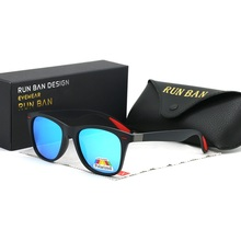 New Fashion Square Ladies Polarizing Sunglasses UV400 Men's Glasses Classic Retr