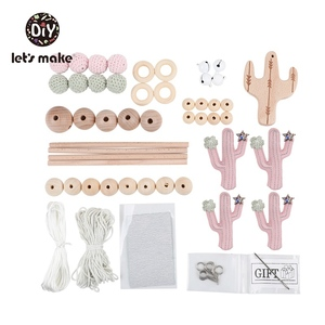 Image 5 - Yapalım bebek oyuncakları cep yatak eğitici oyuncaklar çıngıraklar üzerinde beşik kaktüs yılbaşı hediyeleri DIY seti çıngıraklar yenidoğan için