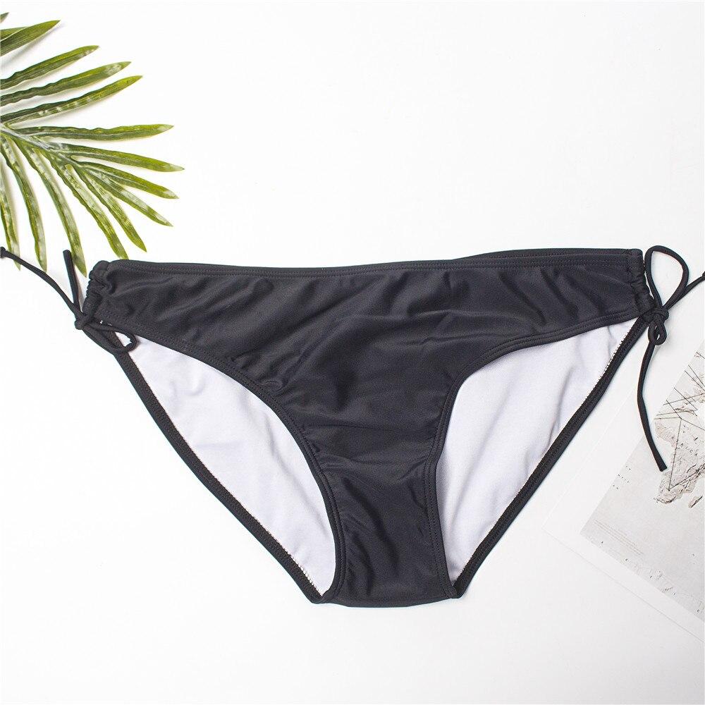 Женские однотонные сексуальные стринги S-XXXL бикини-танга, бандажные бикини, женский купальник 2020, купальный костюм 171T