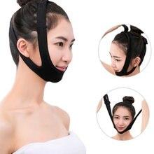 V linha rosto magro bandagem elástica bochecha queixo levantar cinto cinta ferramentas rosto anti rugas flacidez cinta banda facial beleza cinto