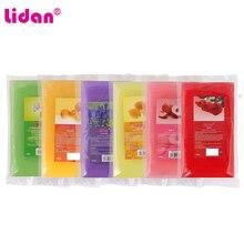 Lidan 450g Rose Peach Lemon lavender Smell Paraffin Wax Bath Nail Art Tool For Nail Hands Mask Paraffin Bath Skin Care