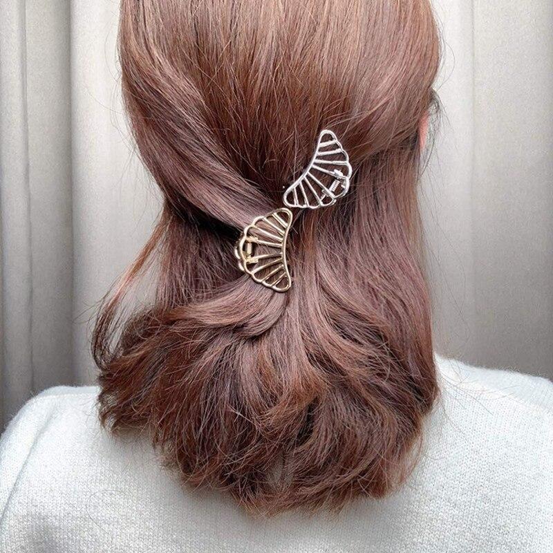 3 pçs metal grampos de cabelo forte