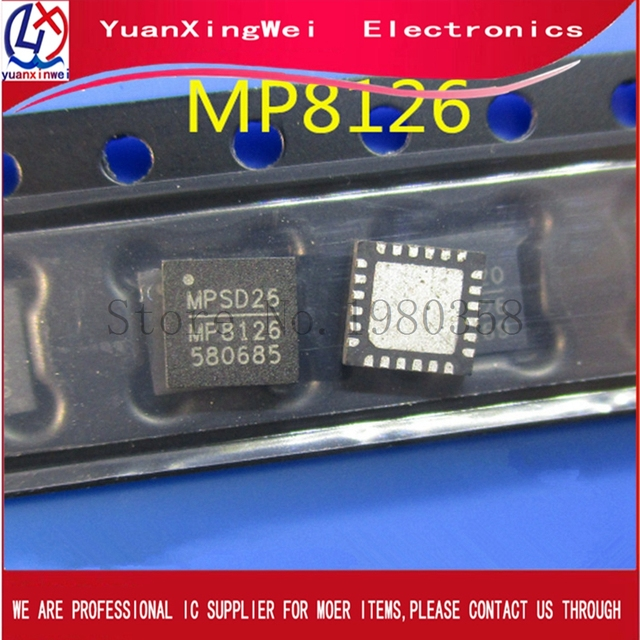 50 Uds MP8126 MP8126DR QFN24