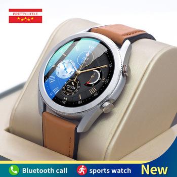 L-19 inteligentny zegarek mężczyźni ekg + PPG Bluetooth zadzwoń IP68 wodoodporny w pełni dotykowy ekran Smartwatch dla androida IOS nadajnik sportowy Fitness tanie i dobre opinie PRETTYLITTLE CN (pochodzenie) Brak Na nadgarstek Zgodna ze wszystkimi 128 MB Krokomierz Rejestrator aktywności fizycznej